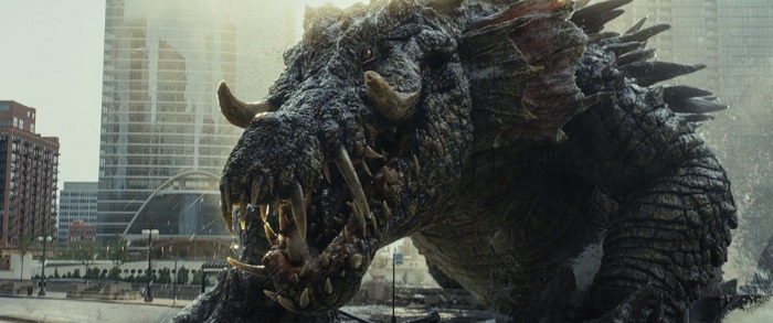 ランペイジの巨大ワニ