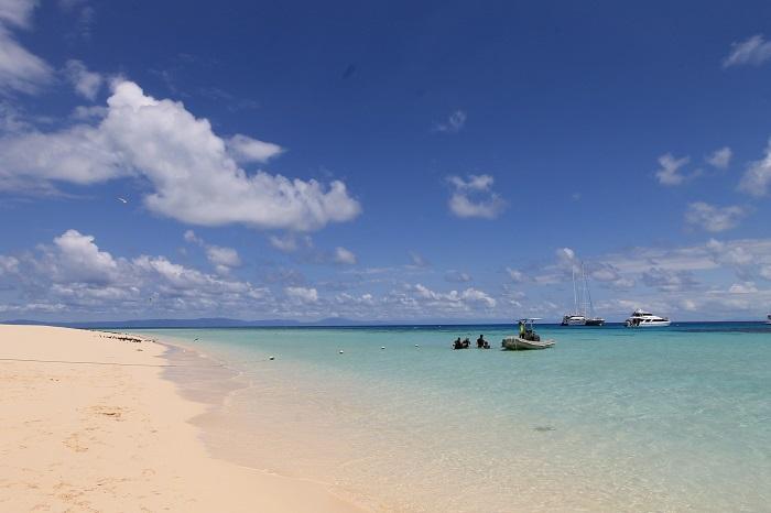 ケアンズ・ミコマスケイのビーチ