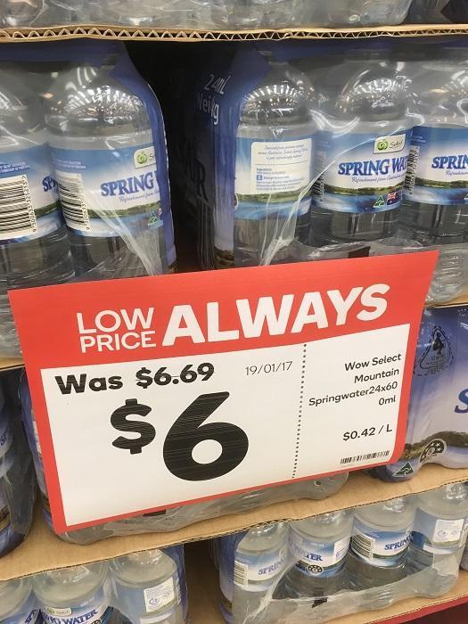 1本辺り25セントです(笑)