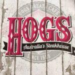 かんなとあきらがケアンズのHog's Breath Cafeにステーキ食べにやってきた!